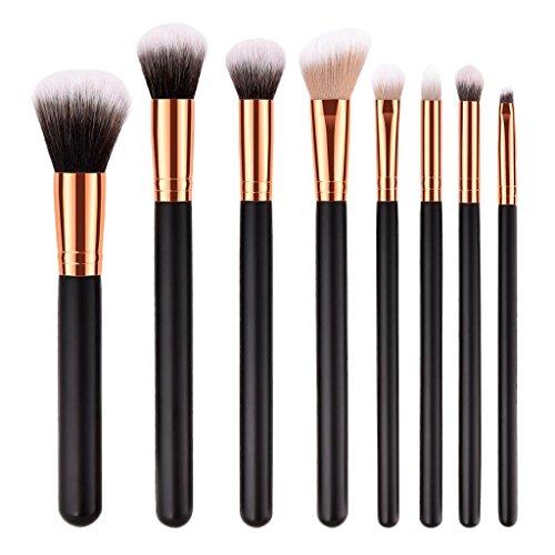 Homyl Ensemble Pinceaux de Maquillage Professionnel 7pcs / 10pcs - 8pcs
