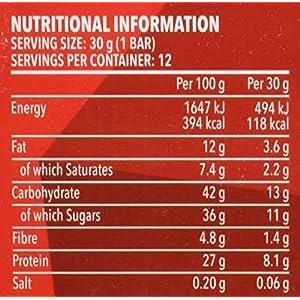 51TEfp oJKL. SS300 Prozis Protein Snack 30 g, Cioccolato Belga, Confezione da 12 Pezzi