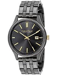 Caravelle New York  Dress Analog Grey Dial Men's Watch - 45B120