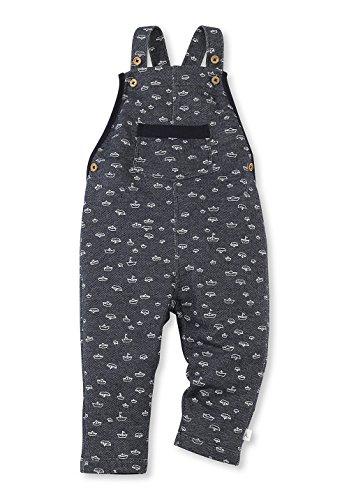 hessnatur Baby Mädchen und Jungen unisex Latzhose aus Baumwolle blau 62/68, 74/80, 86/92, 98/104