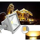 VINGO® 30W LED Fluter Flutlicht Baulicht AC85-265V Aussen IP65 Wandstrahler 3000-3200K Strahler 2400LM Objektbeleuchtung SMD Warmweiß