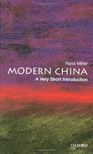 Modern China: A Very Short Introduction (Very Short Introductions) by Rana Mitter (2008-02-28)