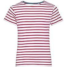 955616b47 SOLS - Camiseta de Manga Corta con Estampado a Rayas Modelo Miles para niños