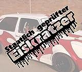 Staatlich geprüfter Eiskratzer Winter Sticker VW OEM Fun Honda Aufkleber Hater Domo Bitch Race Power Honda PS JDM