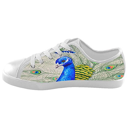 Dalliy sch?ne pfau Boy's High-top Canvas shoes Schuhe Footwear Sneakers shoes Schuhe A