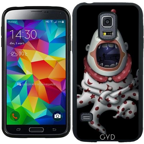 SilikonHülle für Samsung Galaxy S5 Mini - In Der Mündung Des Clown by GiordanoAita (Clown Für Samsung Galaxy S5 Fall)