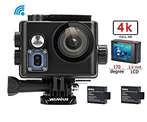 wimius 4k action kamera wifi action cam hd actioncam. Black Bedroom Furniture Sets. Home Design Ideas