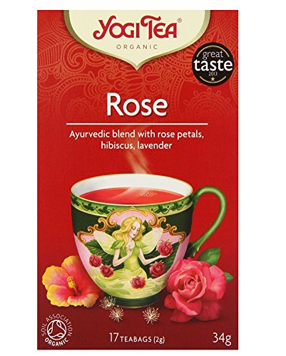 Yogi Tea Rose Tea 17bag x 1 Box