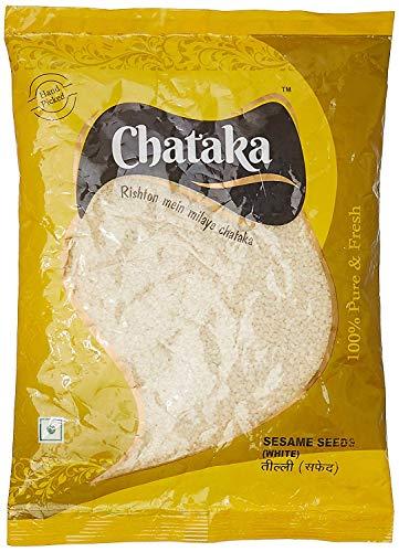 """Chataka Geschälte Sesamsamen, 250 g von \""""Bharat Bazaar\"""""""