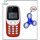 I KALL 1.4 -inch Display Feature Mobile With Spinner Free- K71 (Red)