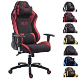 CLP Silla Gaming XL Shift V2 En Tela I Silla Gamer con 2 Cojines I...