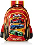#8: Hot Wheels Multi Color Children's Backpack (EI-MAT0038)