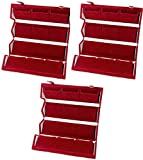 Best Ring 3 - ATORAKUSHON Velvet 12 Pairs Folding Earrings Organizer Box Review