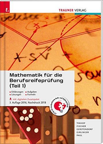Mathematik für die Berufsreifeprüfung (Teil 1)