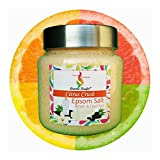 Aromakrafts Epsom Bath & Foot Spa Salt enriched with Citrus Crush Aroma - 250g