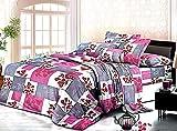 Rossa Double Bed AC Comforter Set - 1 Comforter, 1 Bedsheet with 2