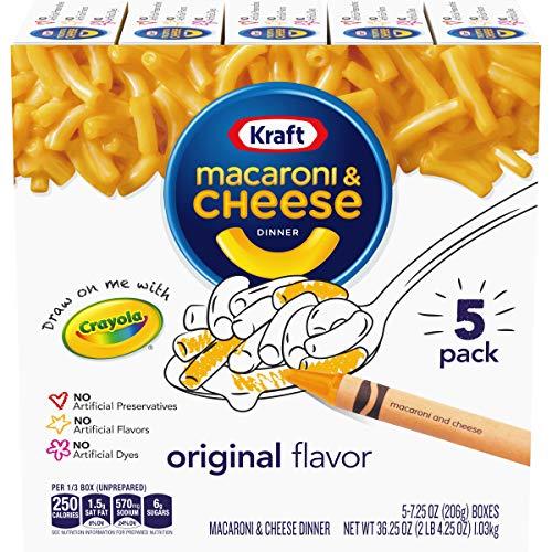 Kraft Mac & Cheese 7.25 Oz, 5 Ct