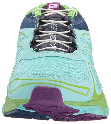 Salomon L38307300, Sneakers trail-running femme Bleu