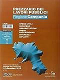 Prezzario dei lavori pubblici Campania 2016
