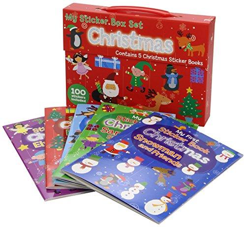 My Christmas Sticker Book Box Set (Christmas Sticker Box Set)