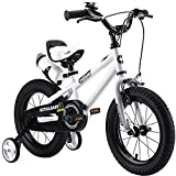 Royalbaby Unisex Youth Freestyle boy's Girl's stabilisers Kids Children Child Bike Bicycle, White
