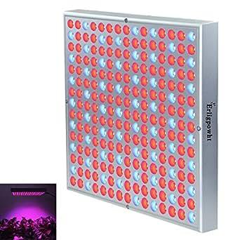 eclairage pour plantes erligpowht 45w panneau lampe de croissance 225 leds rouge et bleue. Black Bedroom Furniture Sets. Home Design Ideas