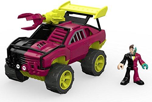 DC – Double Face et Son SUV – Mini Figurine et Véhicule
