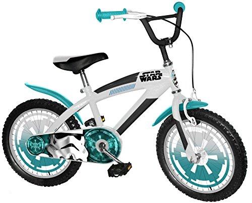 """Stamp Jungen Star Wars Fahrrad, weiß, 16"""""""