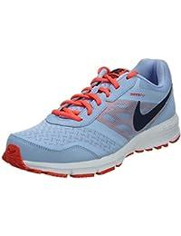3e9da9de3d7a Nike Women s Air Relentless 4 MSL Aluminium and Mid Navy Mesh Running Shoes  - 6 UK