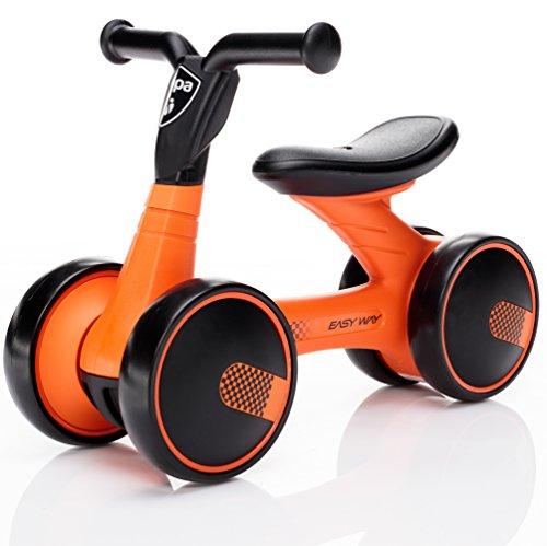 """Zopa Rutscher Easy-Way mit \""""Silent Wheels\"""" ohne Pedale, ab 18 Monaten Kinder laufrad Balance Fahrrad (Mandarin)"""