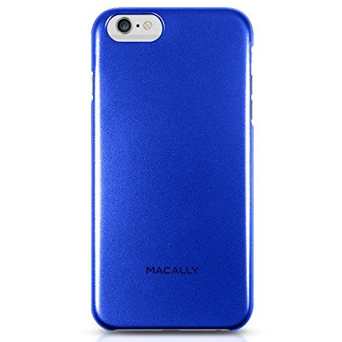Macally SNAP, Schutzhülle für iPhone 6 Plus, Blau -