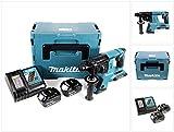 Makita DHR 263 RFJ 2x18V/36 V SDS-Plus Akku Bohrhammer mit 2 x 3,0 Ah Akku + DC18RC Ladegerät im Makpac 4