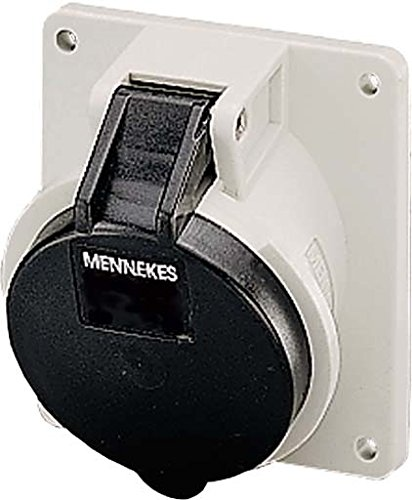 MENNEKES 2765A - BASE EMPOTRAR 2765A 16A 5 POLOS 5H 600-690V IP44