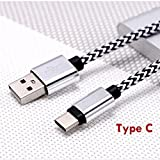 #9: Wicrotec USB Type-C Cable Short Cord Cable for Power Bank Fast Charger for Galaxy S8 Plus,Nintendo Switch, LG V20 G5 G6, Nexus 6P 5X, OnePlus 2 3T etc