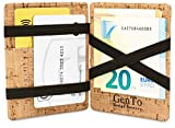 Die besten Wallets - GenTo® Magic Wallet Vegas - Wild-Leder-Optik - TÜV Bewertungen