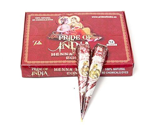 Pride-Of-India-Natural-Herbal-Rajasthan-Mehndi-Buy-1-Get-1-Free-35gm-each-No-ChemicalsDyes