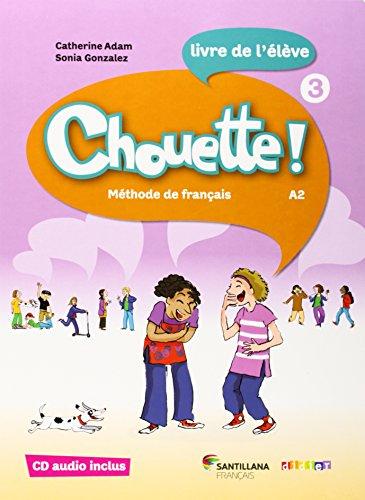 CHOUETTE 3 LIVRE ELEVE + CD