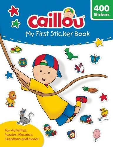 Caillou: My First Sticker Book: Includes 400 fun stickers (Coloring & Activity Book) (Dmi-bogen)