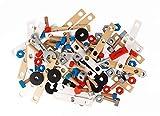 Janod - J06480 - Baril Bricolage Brico'Kids 50 Pièces (bois)...