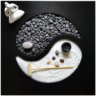 Zen-Garten Yin Yang 30x30x1 cm