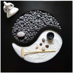 Giardino Zen Yin Yang 30x30x1 cm