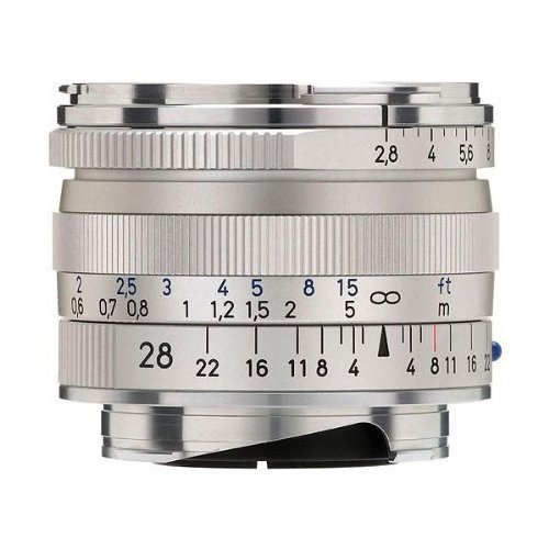Cheapest Carl Zeiss 28 mm / F 2,8 BIOGON T* ZM Lens on Amazon