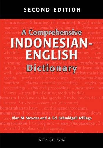 A Comprehensive Indonesian-English Dictionary: Second Edition (2010-04-27)