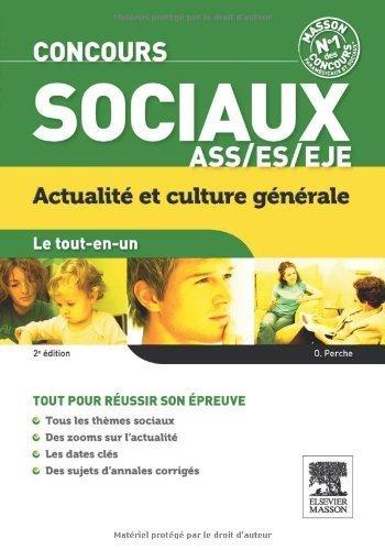 Le tout-en-un Concours sociaux Culture générale de Olivier Perche (4 juillet 2012) Broché