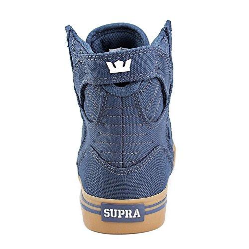 Supra Skytop, Baskets Hautes Mixte Enfant navy/gum