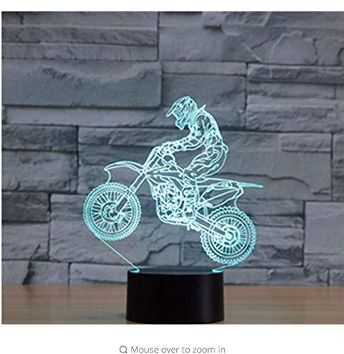 Fahrt Bikini (Babyzimmer Nachtlicht Fahrt Cross-Country Motorrad Mit 7 Farben Licht Für Heimtextilien Lampe Erstaunliche Visualisierung Optische Licht Box)