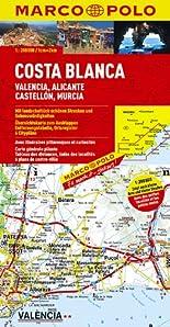 MARCO POLO Karte Costa Blanca, Valencia, Alicante 1:200.000 (MARCO POLO Karte 1:200000) hier kaufen