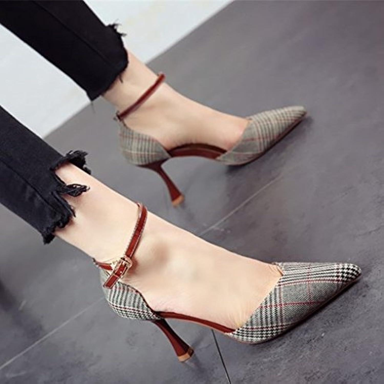 FLYRCX Donna tacco sottile singola calzatura alto stile di scarpe a tacco,39,b | Lasciare Che I Nostri Beni Vanno Al Mondo  | Uomo/Donna Scarpa