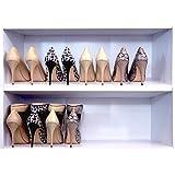 Shoe Stax (Set de 6Stackers)–-de la mujer árbol de zapatero, zapatero, organizador de zapatos, zapatero apilador, ahorro de espacio, de almacenamiento