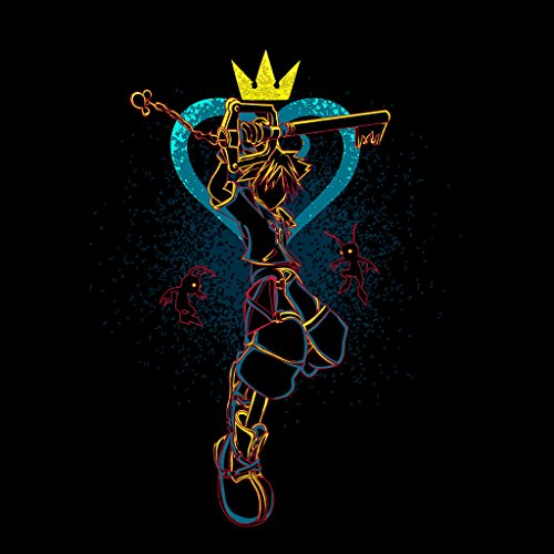 Shadow Of Hearths Kingdom Hearts Women's Sweatshirt Black